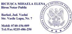 Notar Biciusca Mihaela