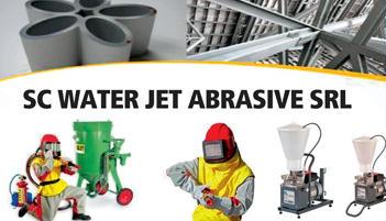 water jet abrazive
