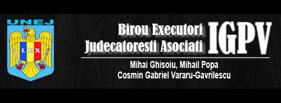 EXECUTORI JUDECATORESTI MIHAI GHISOIU, MIHAIL POPA, COSMIN GABRIEL VARARU GAVRILESCU