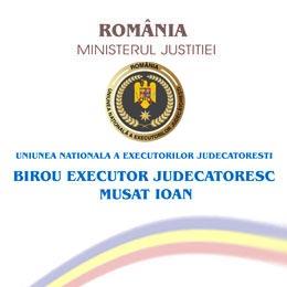BIROU EXECUTOR JUDECATORESC MUSAT IOAN