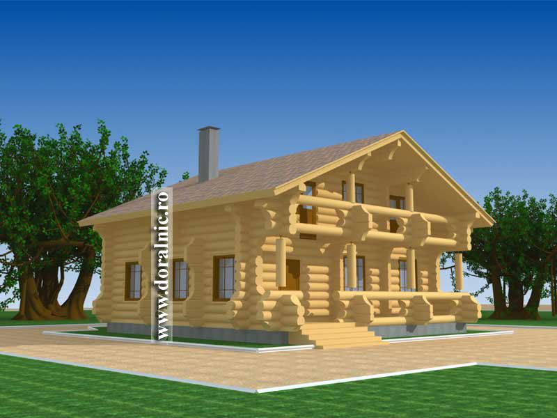 Case de lemn americane related keywords case de lemn for Case de lemn rotund